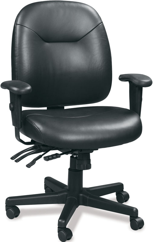Eurotech 4x4 LE Executive Leather Chair LM59802A - Mid Back