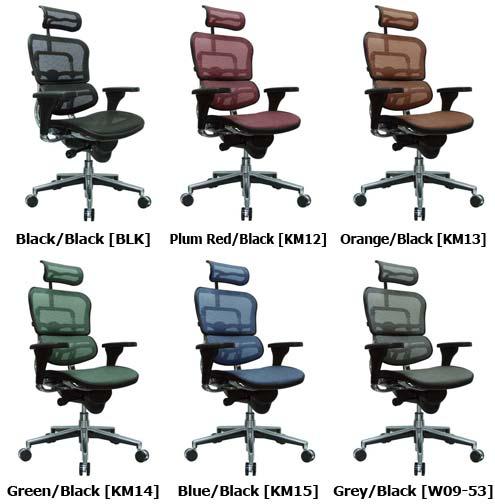 ergohuman low back chair me8erglo