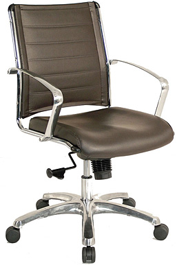 Eurotech Europa Executive Vinyl Chair VE222 - Mid-Back