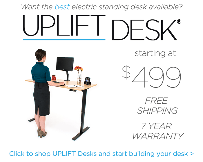 UPLIFT Height Adjustable Standing Desks